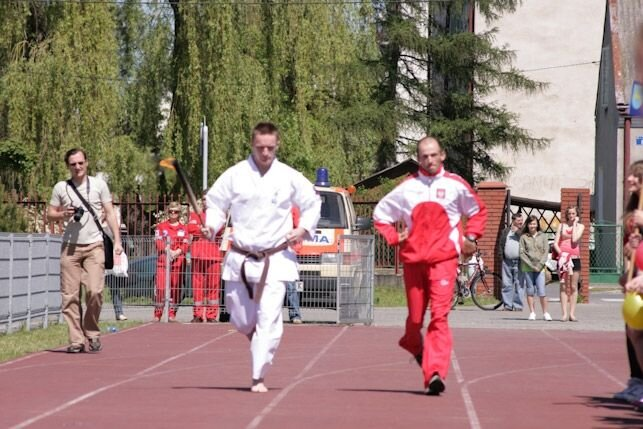 Pokazy sportowe Olimpiada Młodzieży