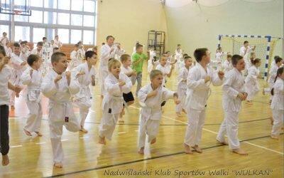 Egzamin na kolejne stopnie szkoleniowe – 17 stycznia 2016 roku w Hali sportowej KCRiS