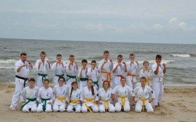 Obóz sportowy Oyama Karate Ustronie Morskie 2013