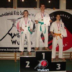 V Mistrzostwa Zwolenia Oyama Karate w konkurencji Kata.