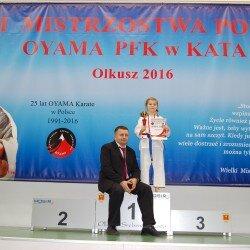 XXII Mistrzostwa Polski Oyama PFK w Kata, Olkusz 12 marca 2016