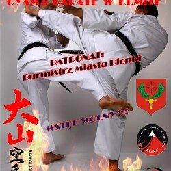Otwarte Mistrzostwa Polski Wschodniej Oyama Karate w Kumite, Pionki 23 kwietnia 2016 roku. Zapraszamy!