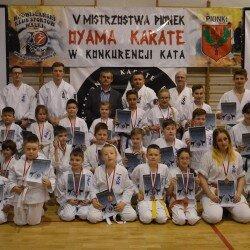 V Otwarte Mistrzostwa Pionek Oyama Karate w konkurencji Kata, Pionki 16 maja 2016