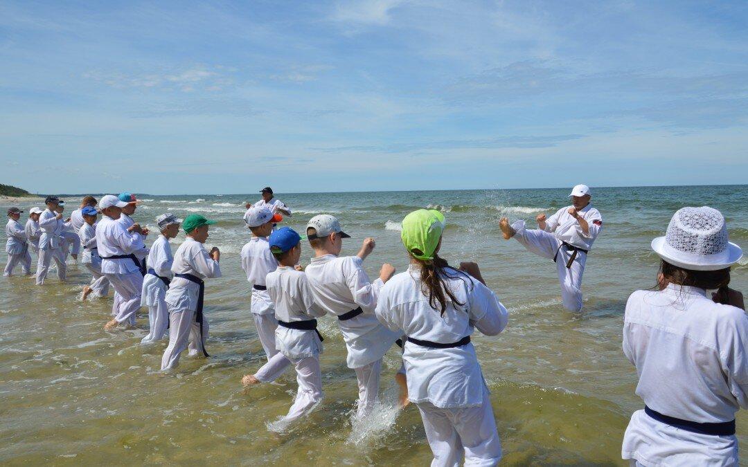 Obóz sportowy Oyama Karate Poddąbie 2016