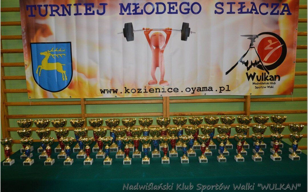 Turniej Młodego Siłacza, Kozienice 21 października 2016