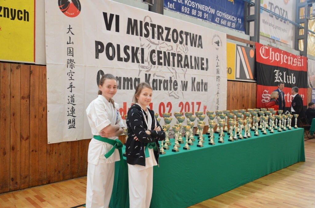 VI Mistrzostwa Polski Centralnej Oyama Karate w Kata, Łódź 11 lutego 2017 roku