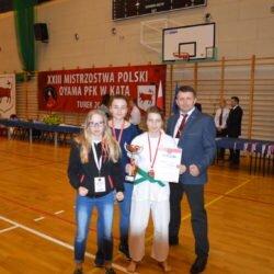 XXIII Mistrzostwa Polski Oyama PFK w konkurencji Kata, Turek 25 marca 2017 roku