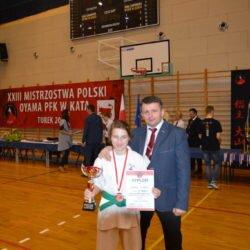 XXIII Mistrzostwa Polski Oyama Karate w konkurencji Kata, Turek 25 marca 2017 roku