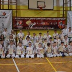 V Otwarte Mistrzostwa Puław Oyama Karate w konkurencji Kata, Puławy 7 marca 2017 roku