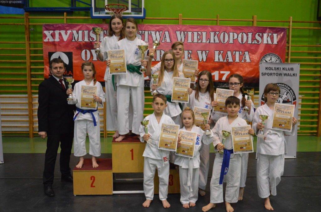 XIV Otwarte Mistrzostwa Wielkopolski Oyama Karate w Kata, Koło 11 marca 2017 roku