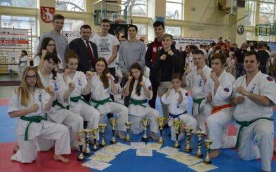 Otwarte Mistrzostwa Polski Zachodniej Oyama Karate w konkurencji Kumite i Kata, Iłowa 8 kwietnia 2017 roku