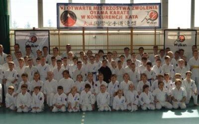 VI Otwarte Mistrzostwa Zwolenia Oyama Karate w konkurencji Kata, Zwoleń 1 kwietnia  2017 roku