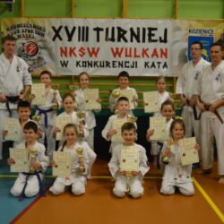 XVIII Turniej NKSW Wulkan w konkurencji Kata, Kozienice 19 kwietnia 2017 roku