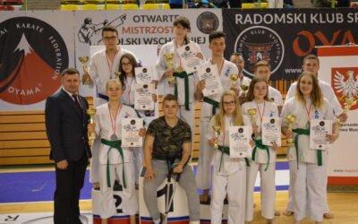 Otwarte Mistrzostwa Polski Wschodniej w Kumite, Radom 23 kwietnia 2017 roku