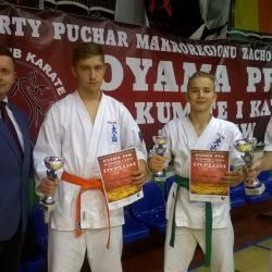 Otwarty Puchar Makroregionu Zachodniego Oyama Karate w Kumite i Kata, Wrocław 26 listopada 2017 r.