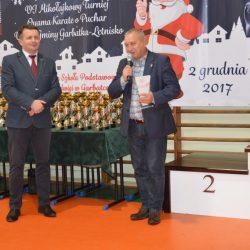 VI Mikołajkowy Turniej Oyama Karate o Puchar Wójta Gminy Garbatka- Letnisko, 2 grudnia 2017 r.