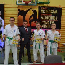 Otwarte Mistrzostwa Makroregionu Zachodniego Oyama PFK w Kumite i Kata. Żagań 3 marca 2018 r.