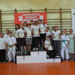Mistrzostwa Szkoły Oyama Karate w konkurencji Kata, Garbatka- Letnisko 28 maja 2018 r.