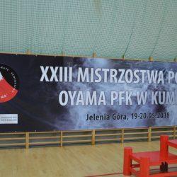 XXIII Mistrzostwa Polski Oyama Polskiej Federacji Karate w Kumite, Jelenia Góra 19 maja 2018 r.