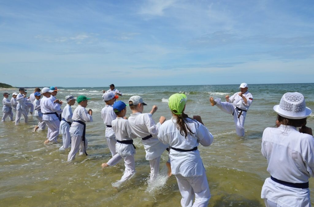 Obóz Sportowy Oyama Karate Jastrzębia Góra 2019