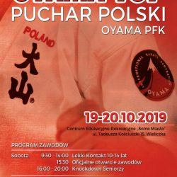 Puchar Polski Oyama Top, Wieliczka 19,20 października 2019