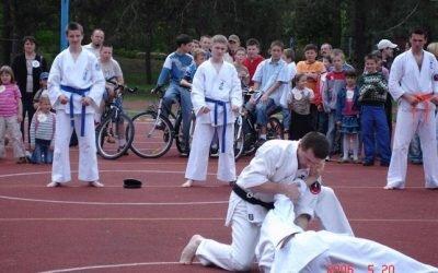 Pokazy sportowe Festyn Trójki 2006