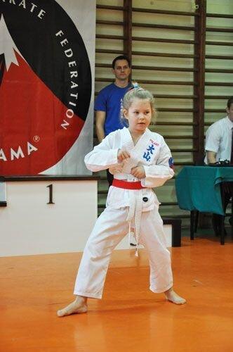 Mikołajkowy Turniej Oyama Karate w konkurencji kata Garbatka – Letnisko, 8 grudnia 2012