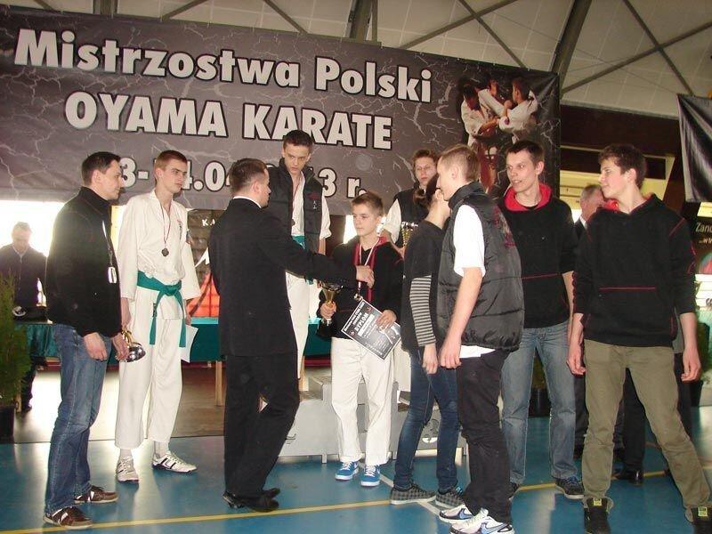 Mistrzostwa Polski Oyama Karate w konkurencji kumite – 13-14 kwietnia 2013 r.