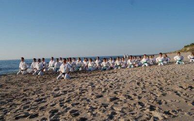 Obóz sportowy Oyama Karate Łazy 2011