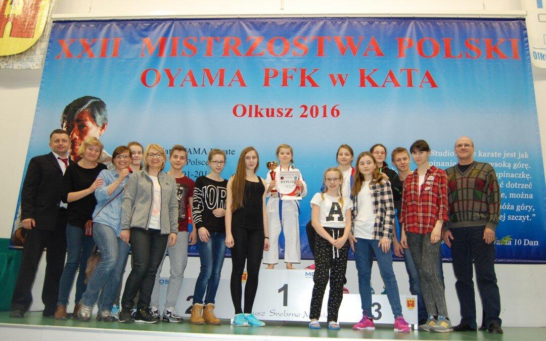 XXII Mistrzostwa Oyama PFK w Kata- Olkusz 12 marca 2016
