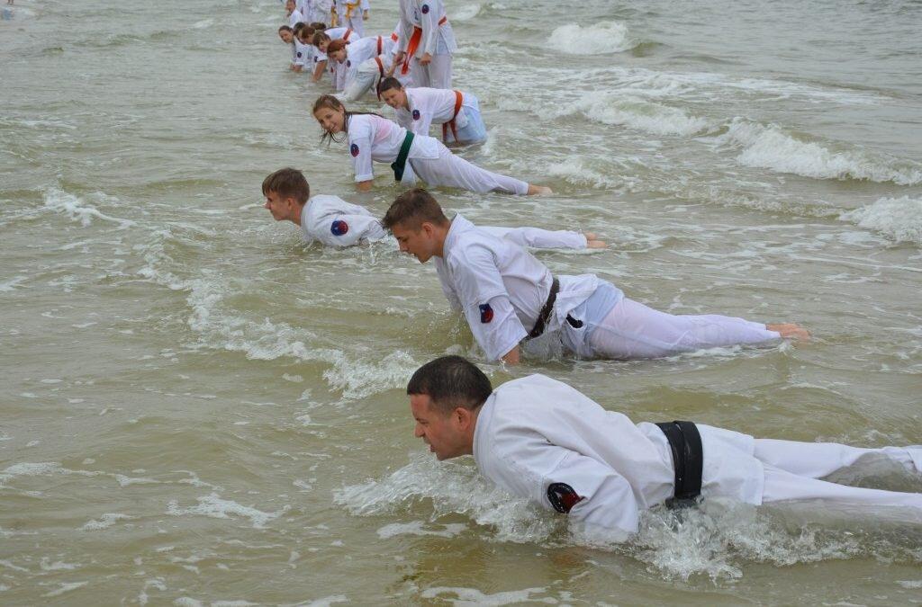 Obóz sportowy Oyama Karate Łeba 2018