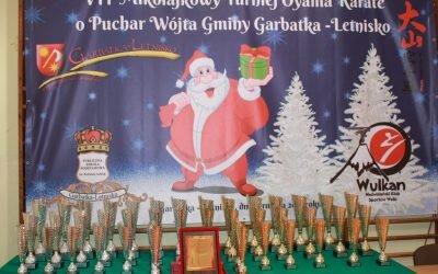 VII Mikołajkowy Turniej Oyama Karate o Puchar Wójta Gminy Garbatka Letnisko, 1 grudnia 2018 roku