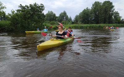 Spływ kajakowy Pilicą, Warka 26 czerwca 2021 r